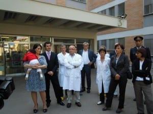 Inaugurato il pronto soccorso pediatrico donato da for Eva arredamenti orari