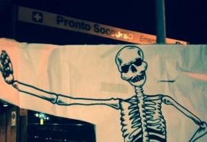 Casapound scheletro