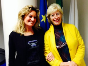 Marina Gargiulo (e in giallo la presidente uscente Carrano)