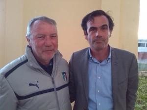 il presidente regionale Sergio Roticiani e pres. provinciale Alessandro Parisella