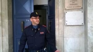 polizia in conservatoria
