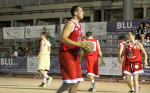Daniele Bonessio (serie A) durante la gara