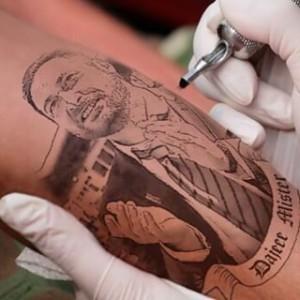 Iuliano tatuaggio