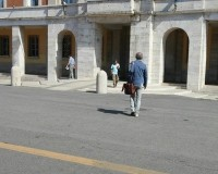 Il sindaco di Latina Damiano Coletta al lavoro tra giri istituzionali e squadra di governo