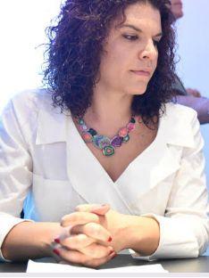 L'assessora Cristina Leggio