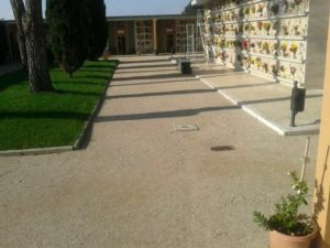 cimitero montello
