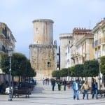 Il centro storico di Fondi