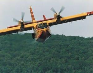 Canadair in azione