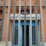 L'ingresso del carcere di Latina