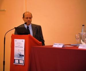 Fabrizio Ferracci, presidente dell'Ordine degli Ingeneri di Latina