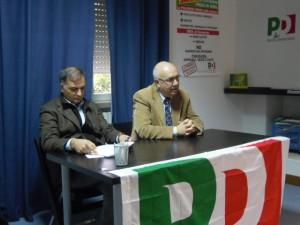 Da sinistra Enrico Forte e Sandro Bartolomeo