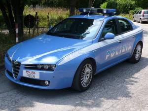 polizia-macchina