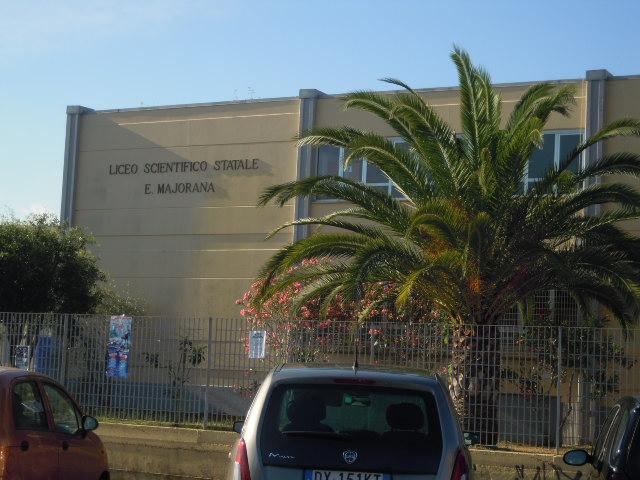Il liceo scientifico Majorana di Latina