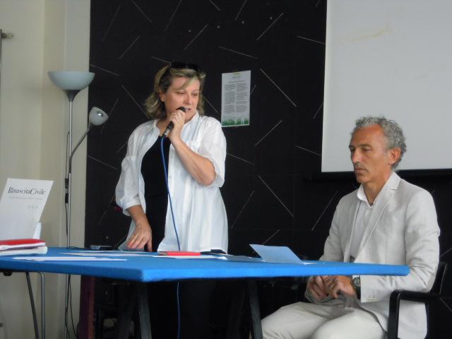 Antonella Finotti e Damiano Coletta