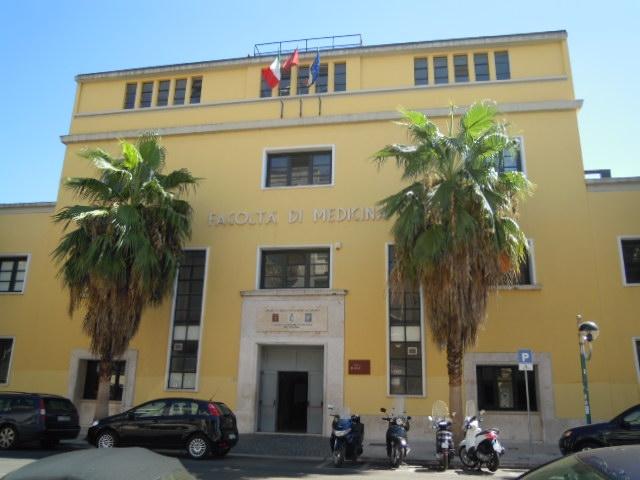 La sede della Facoltà di Medicina in corso della Repubblica a Latina