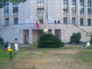 Palazzo M, sede della Gdf