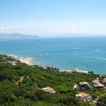 La costa a sud di Capo Circeo