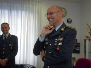 Il comandante provinciale, Paolo Kalenda