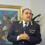 Il comandante della Polstrada, Francesco Cipriano