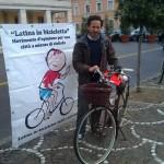 Dario Bellini di Latina in bicicletta
