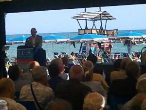 Il sindaco Di Giorgi presenta il Plus agli operatori della Marina, all'Hotel Tirreno