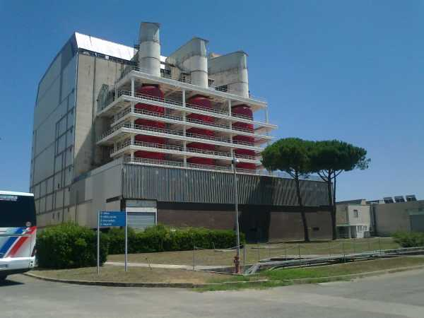 L'ex centrale nucleare