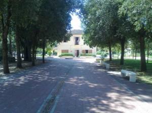 L'ingresso del Centro Visitatori del Parco a Sabaudia