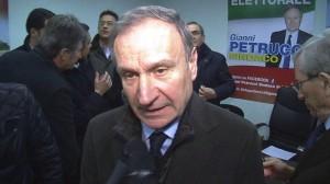 Il sindaco Petrucci
