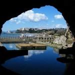 Sperlonga dalla Grotta di Tiberio