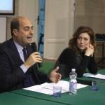 Nicola Zingaretti e  Rosa Giancola