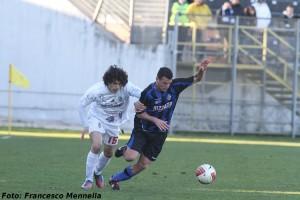 Dario Barraco in azione
