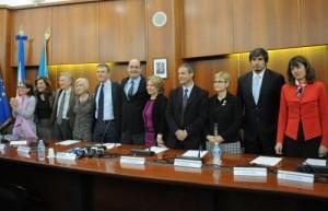 La prima foto di gruppo della giunta Zingaretti