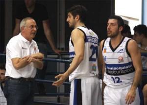 Coach Billeri parla ai giocatori