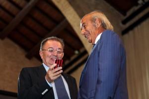 Sergio Viceconte con il Presidente di Confindustria Giorgio Squinzi