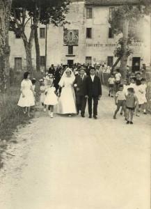 Borgo Carso, il matrimonio della prima nata di Littoria (foto Dictascripta)