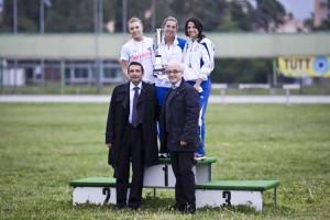 Gilberto Gabriele nella foto in basso a sinistra in occasione di una manifestazione sportiva dell'Asvel, la società sportiva che presiedeva