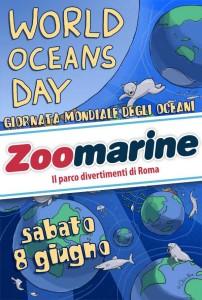 Giornata Mondiale degli Oceani locandina