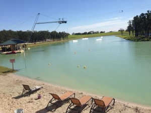 Per il cable park di Latina realizzato un lago artificiale a borgo Isonzo