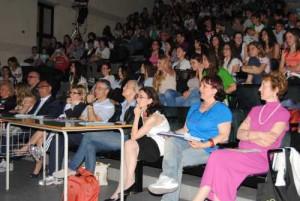 Alcuni dicenti e la dirigente Giovanna Bellardini compongono la giuria
