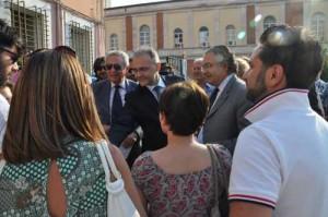 Il Ministro Mauro incontra i lavoratori Scm