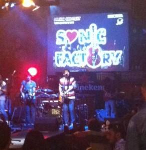 sonic factory finale