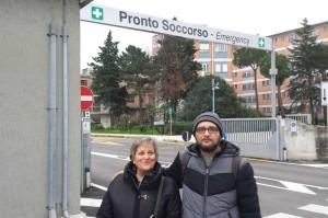 Mamma e figlio: la senatrice Ivana Simeoni e il deputato Cristian Iannuzzi del M5S
