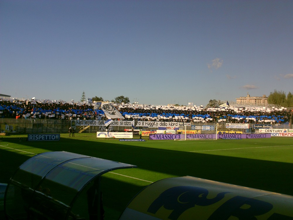 Latina Calcio - Curva nord Francioni