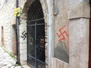 ingresso cortile ebraico