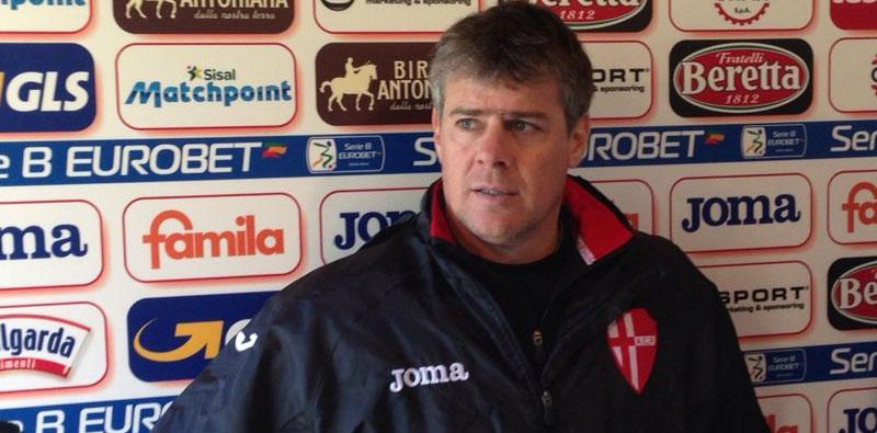 L'allenatore del Padova Michele Serena