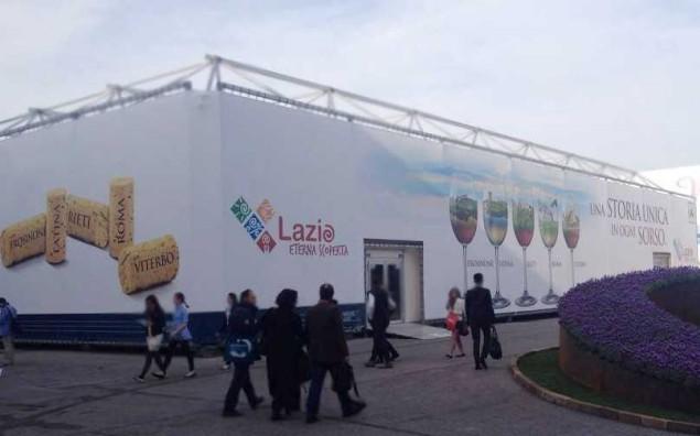 Padiglione Lazio al Vinitaly 2014