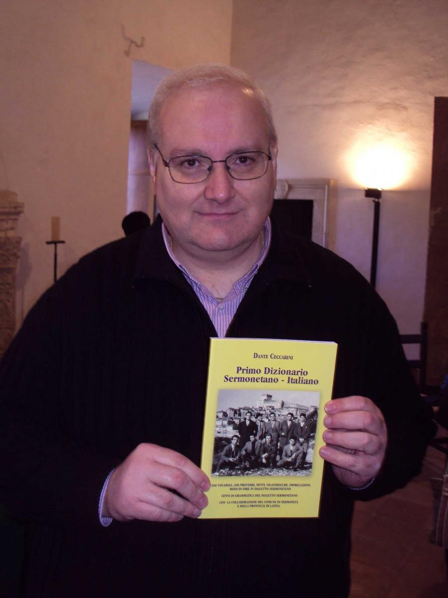 Dante Ceccarini presidente dell'Archeoclub di Sermoneta