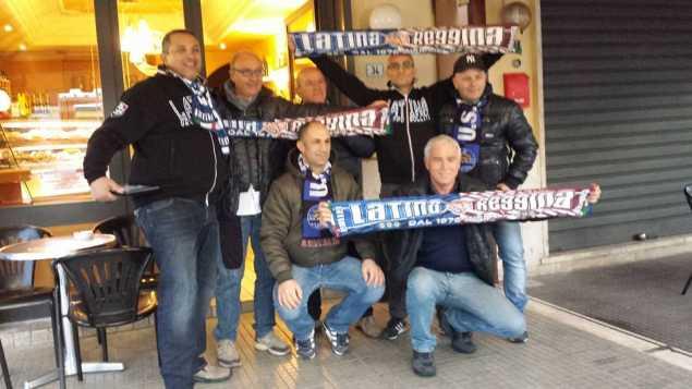 tifosi in partenza per Reggio