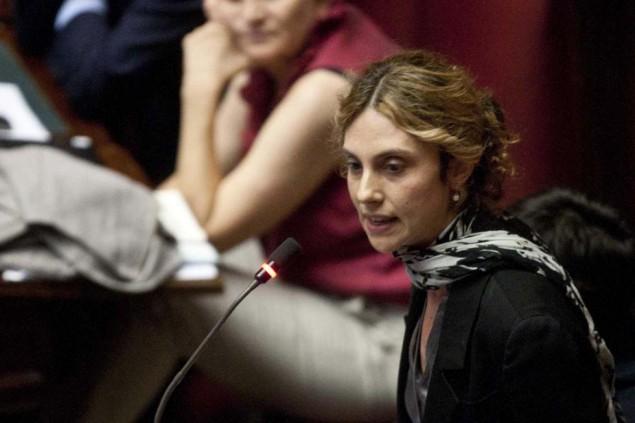 Il Ministro Marianna Madia sta curando  la contestata riforma del pubblico Impiego (Foto Mauro Scrobogna /LaPresse)