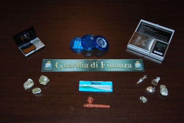 Cp. Fondi - Arresto per spaccio 02072014
